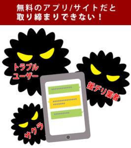 無料サイト・アプリは危険がいっぱい
